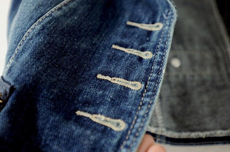 Image 4 - 90% хлопок, весенние однобортные повседневные жилеты, женская джинсовая жилетка, тонкая джинсовая куртка, летние куртки без рукавов, Женское пальто-in Жилеты и безрукавки from Женская одежда on AliExpress