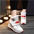 2016 мода спортивная обувь бренда повседневная обувь платформы женская обувь дышащая женщина тренеры дамы обувь chaussure femme