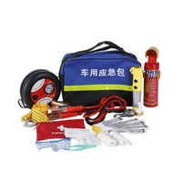 Vehicle Emergency Rescue Bag Automobile Truck Tire Pressure Gauge Tool Kit Maintenance Tools First Aid Kit Safety Hammer