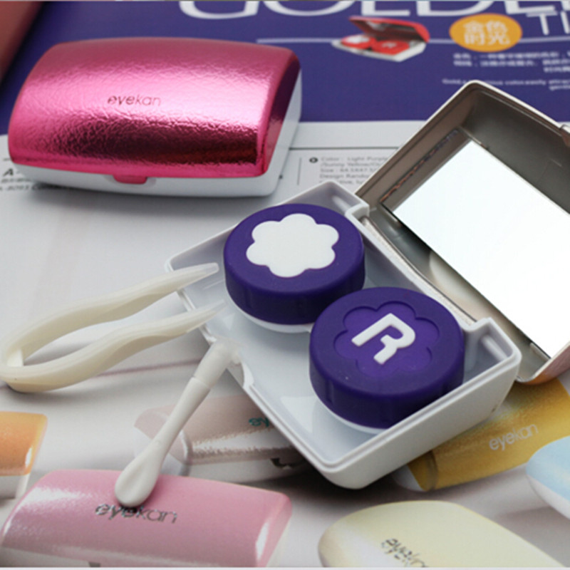 Eyekan Caja de lentes de contacto de lujo para mujeres Estuche de - Accesorios para la ropa - foto 3