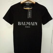 6d03e3cb 2019 Men Balmain Mens Designer T Shirts Black White Red Mens Fashion  Designer T Shirts Top