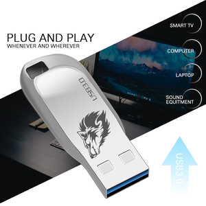 Image 4 - Usb флеш накопитель 64 ГБ usb3.0 металлическая ручка накопитель 32 Гб Флешка 16 ГБ/8 ГБ/128 ГБ usb флешка подарок usb флеш накопитель