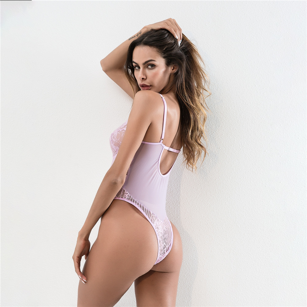 HTB1rKxcXInrK1RkHFrdq6xCoFXav - Cryptographic hot sale sheer lace bodysuit women backless transparent mesh bow sexy jumpsuit 2018 catsuit straps bodysuits thong