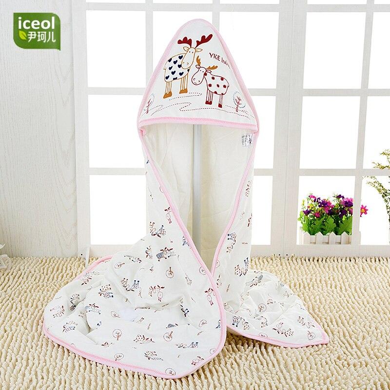 С рисунком оленя Одеяло swaddleme новорожденных Для маленьких мальчиков девочек пеленание sleepsack спальный мешок Высокое качество Детские младен...