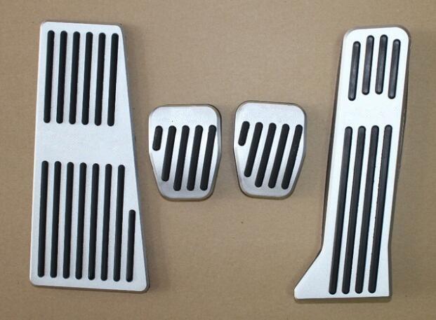 Auto accelerator pedal,car brake pedal for mazda 3 mazda 6 cx-5 cx-3 2014-2018,MT,4pcs/lot,car styling car for mazda 3 mazda3 2004 2005 2006 2007 2008 2009 accessories pedal brake accelerator footrest sticker manual mechanical mt