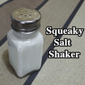 Squeaky Salt Shaker funny glass bottle magic tricks magic props