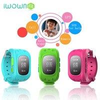 IWOWNFit intelligente orologio per bambini GPS bambini watch phone sim smart card del bambino della vigilanza SOS Chiamata Location Finder Anti perso Q50