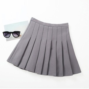 Image 2 - 2 14 Y School Childrens Skirt Kids Pleated Skirt Toddlers Philabeg Baby Toddler Teenage Clothes Big Girls A Line Skirts JW3937A