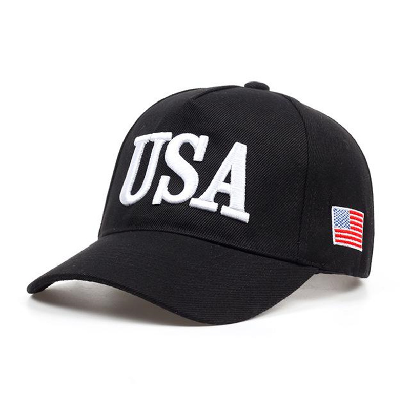 2019 New USA Flag Caps Men Women Baseball Cap Thickening USA Men Women Golf Hat Outdoor Adjustable Dad Hats