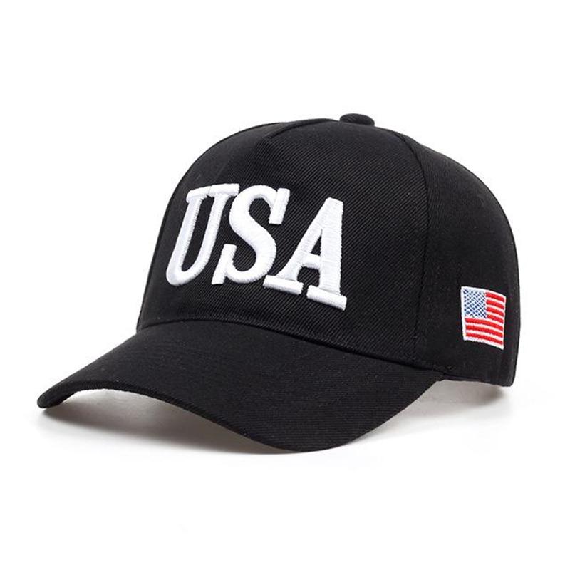 2019 New USA Flag Caps Men Women Baseball Cap Thickening USA Men Women Golf Hat Outdoor Adjustable Dad Hats