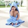 Infantil Toalla de Baño Del Bebé Recién Nacido de Cuatro Estaciones Mantas Llanura Toallas Con Capucha Para Niños niños Moda de Dibujos Animados Suave Algodón Toalla