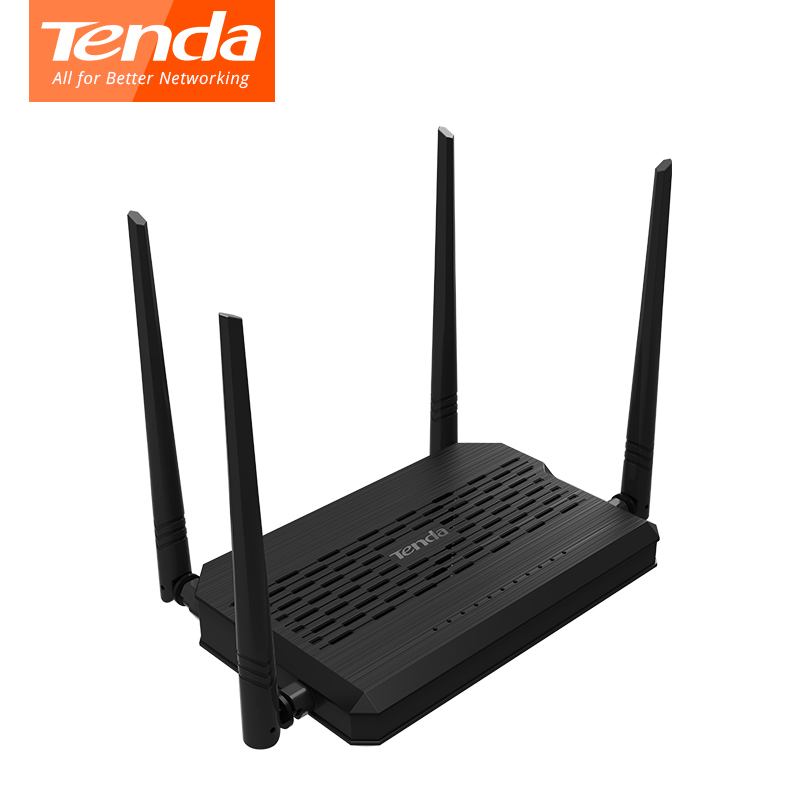 Tenda wireless router D305 ADSL2+Modem router WIFI Router English Firmware 300M WIFI Router with USB 2.0 Port image