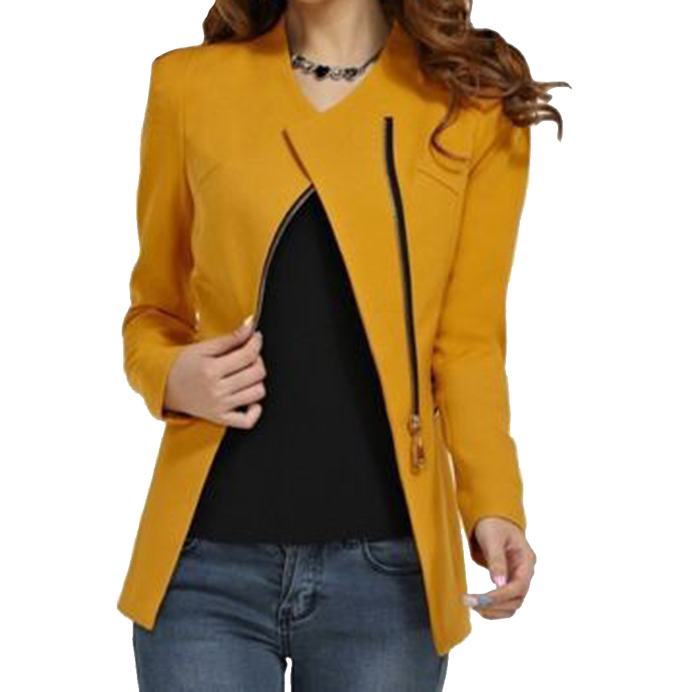 Yellow Short Jacket Promotion-Shop for Promotional Yellow Short ...