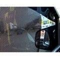 2 Pcs Tampa do Bloco de Sol Lado Sombra Estática Adere-se Da Janela Do Carro Protetor de Tela Black