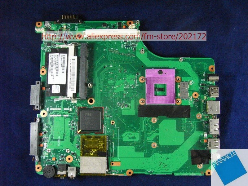 V000126440 Motherboard for Toshiba A300 V000127070 6050A2171501 nokotion sps v000198120 for toshiba satellite a500 a505 motherboard intel gm45 ddr2 6050a2323101 mb a01