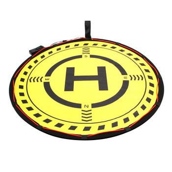 Portable landing pad Foldable Field with Lighting for DJI drones 70cm drone helipad