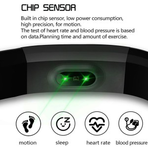 Image 3 - 115plus Fitness Smart Wristbands Color Screen Sports Smart Bracelet Digital Clock Pressure Gauge Multi language Bluetooth Band