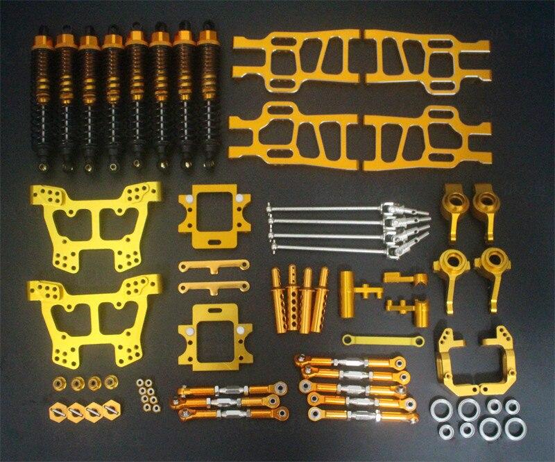 HSP 1:10 Bigfoot Elettrico 94111/94108 All Metallo Veicolo Kit di Aggiornamento Pezzi di Ricambio - 2