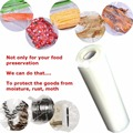 1x Roll Vacuum Seal Pack Bag Food Saver Storage Fruit Meat Fish Container 20x500cm