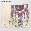 New Round Hippie Tapestry Beach Throw Roundie Dreamcatcher Towel Yoga Mat Bohemian Featur Free Shipping Wholesale