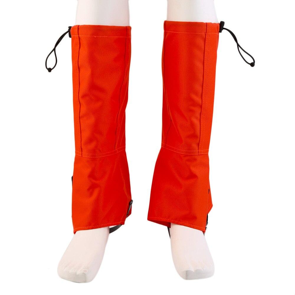 1 пара magideal нейлон открытый туризм восхождение снег водонепроницаемый прогулки гетры гетры ног обложки новый бренд