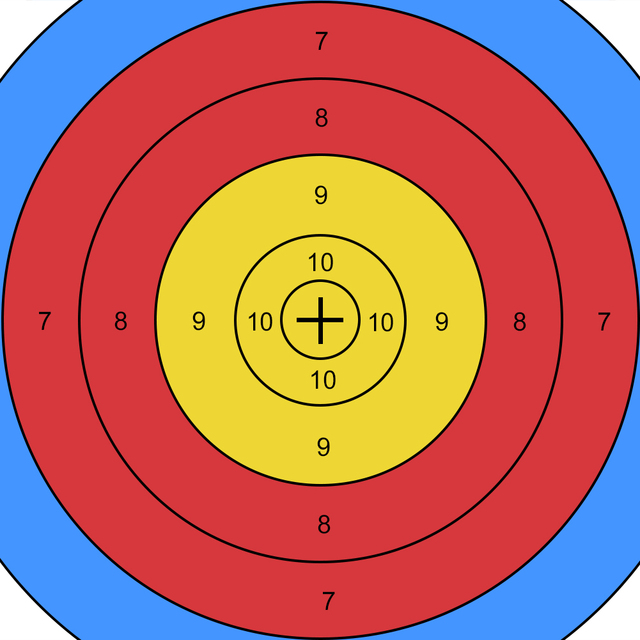 20/50 Pieces Archery Target Shooting Target Paper for Hunting Recurve Bow Crossbow