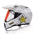 Бесплатная доставка moto мотоцикл шлем каско capacete мотокросс гонки шлем с объективом зима ветрозащитный ATV dirtbike шлемы