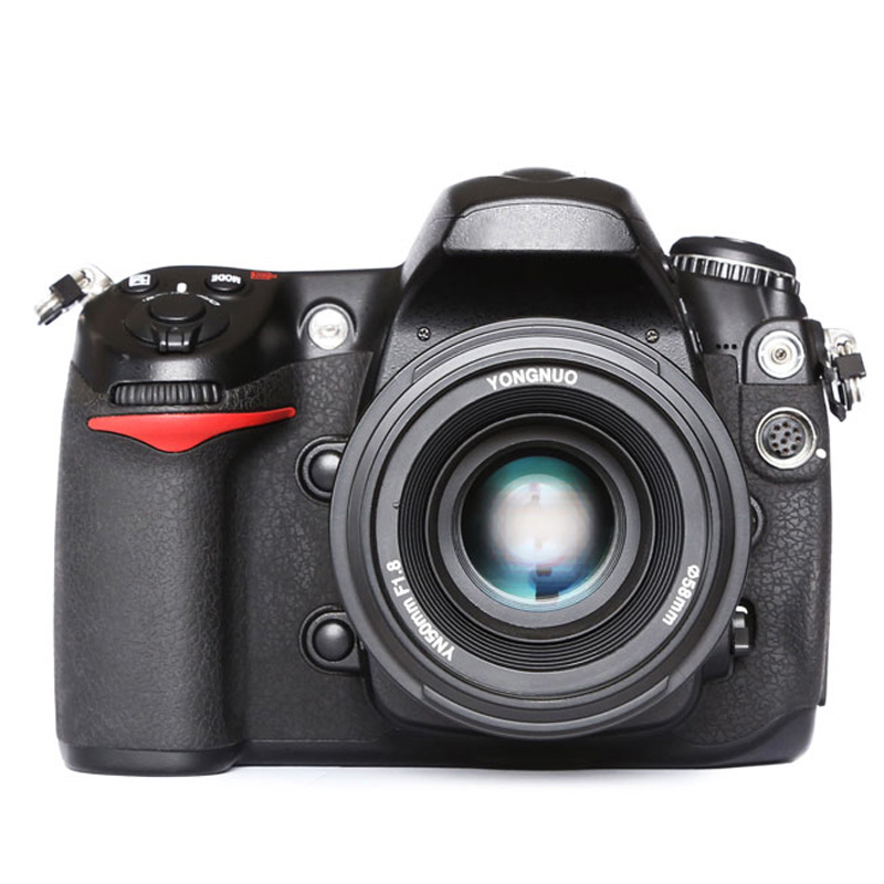 Original YONGNUO 50mm f1.8 Camera Lens lenses Large Aperture Auto Focus for Canon 5DII 5DIII 5D 500D 400D 650D 600D 450D 60D 7D