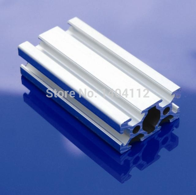Aluminum Profile Aluminum Extrusion Profile 2040 20*40 Commonly Used In Assembling Device Frame, Table And Display Stand