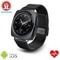 Shaolin smart watch phone bluetooth conectado wrist smartwatch para iphone huawei xiaomi lg android smartphones reloj inteligente