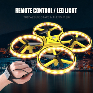 Image 3 - DWI Obstacle Avoidance Aircraft Mini Drone Professional 360 Flip Interactive Induction Quadcopter Watch Control UAV Drone