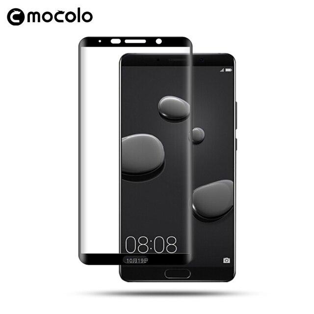 Mocolo 3D изогнутая пленка из закаленного стекла для Huawei Mate 10 полное покрытие HD Взрывозащищенный протектор экрана для Huawei Mate 10 Pro