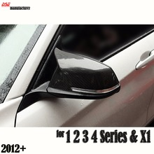 M3 style F30 replacement carbon fiber door side wing mirror cover cps for bmw F20 F21 F22 F23  F31 F34  F32 F33 F36 & X1 E84