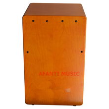Afanti Music Birch Wood / Natural Cajon Drum (KHG-174)