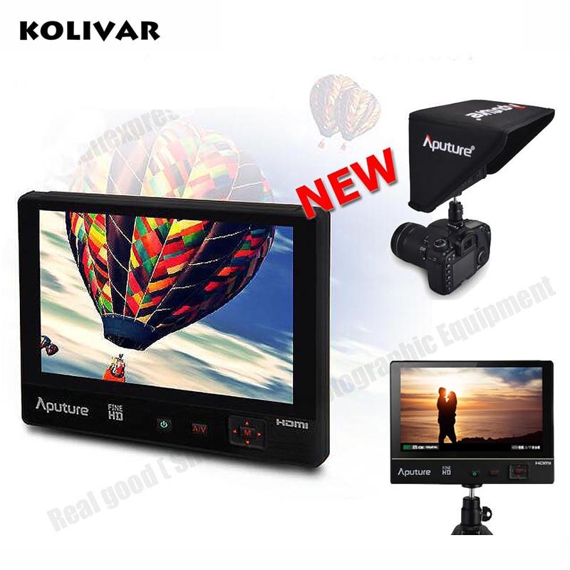 KOLIVAR Aputure VS-1 FineHD Monitor 7 1920*1200 HD LTPS Extra OSD Panel for Canon Nikon Sony BMPCC GH4 DSLR Camera Camcorder