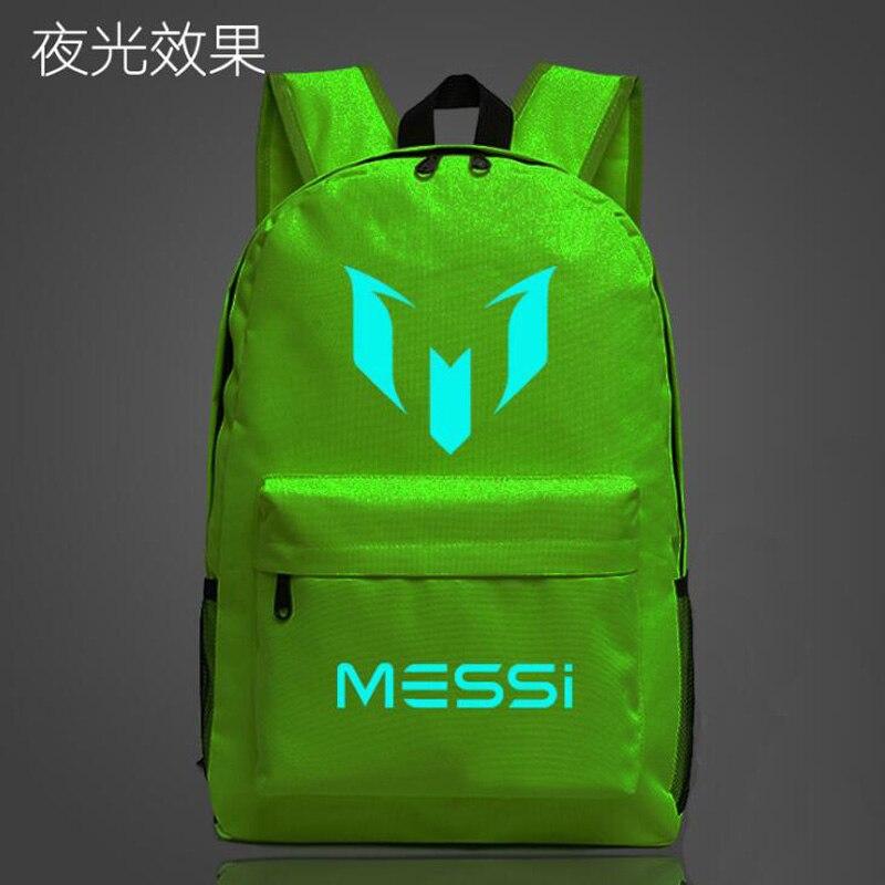 5c01c387d3c3 Logo Messi Backpack Bag Men Boys Barcelona Travel Bag Teenagers School Gift  Kids Bagpack Mochila Bolsas Escolar-in Backpacks from Luggage   Bags on ...