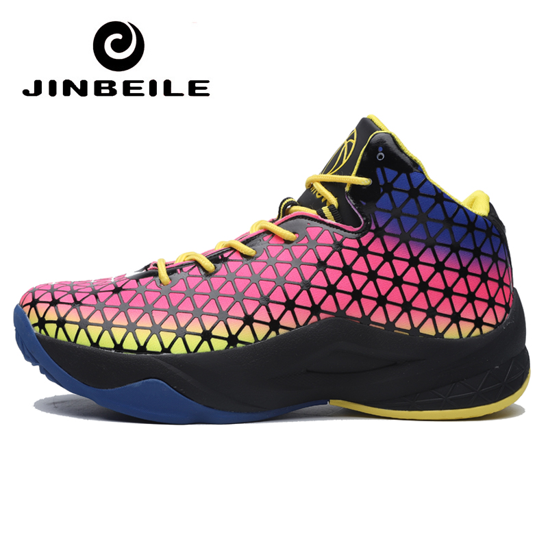 Newest Basketball Sneakers Zapatillas Jordan Hombre High Top Mens Basketball Shoes Spring Outdoor Sport Shoes Basketbol Ayakkabi in Basketball Shoes from Sports Entertainment