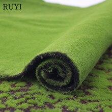 Симулятор мха газон стены зеленое растение DIY искусственная трава Доска Свадьба Мини Сад Микро Пейзаж украшения аксессуары