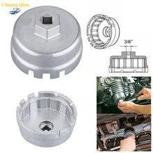 Chuang Qian 64,5 мм 14 флейт Универсальный Масляный фильтр разъем инструмент для жилья Алюминиевый ключ для удаления чашек Набор для Toyota& Lexus& Scion