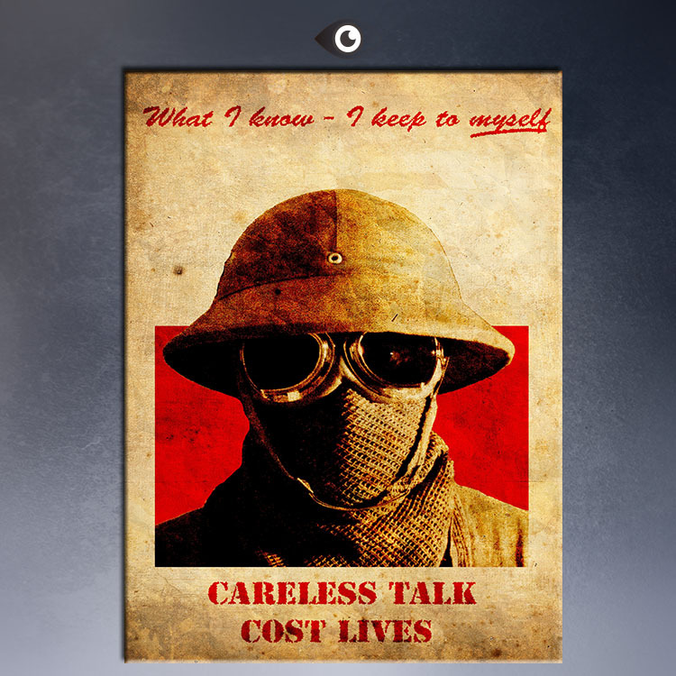 HUGE POSTER ART PRINT ON CANVAS FOR Fallout 3 Propaganda Posters ...
