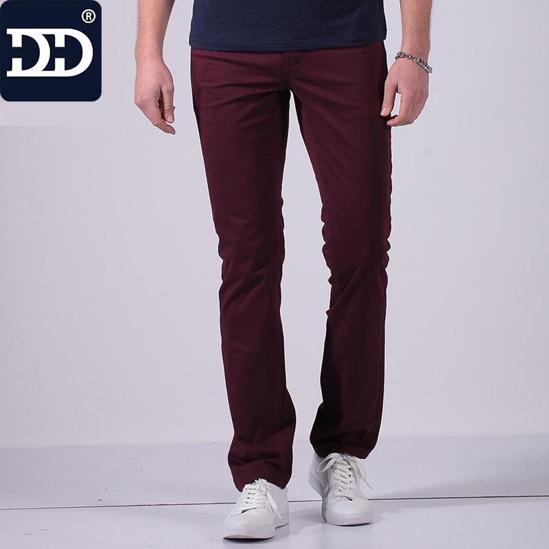 2017 Nouveau Type Slim Fit Pantalons Hommes Super Confortable Mince Pantalon Poches Hommes Pantalon Hommes Célèbre marque-vêtements Hommes mode