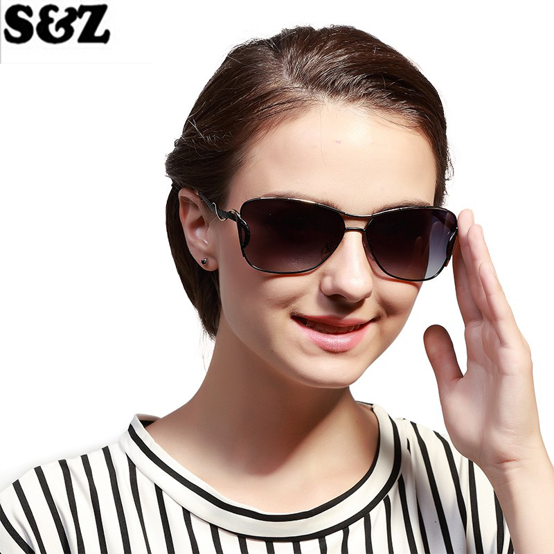 Mode Gergous polarisant lunettes de soleil femmes OEM Designer femmes lunettes de soleil été grande taille ombre UV400 miroir lunettes