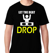 """LET THE BEAT DROP"" Men's T-Shirt"