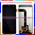 Negro Probado Para Fly FS504 Cirrus 2 Pantalla LCD Con Pantalla Táctil Digitalizador Asamblea del Reemplazo Completo Código de Seguimiento