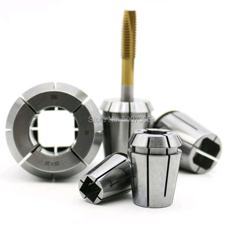 Tap Collets Tapping Collet Taps ERG16 ERG20 ERG 25 ERG32 Square Tapping ER Collet DIN 6499 Machine Taps Collets Milling Tools