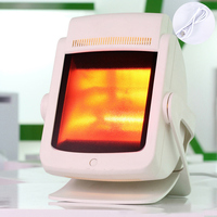200w Far Infrared Therapy Heat Lamp Pain Relief Physiotherapy Heating Light Massage Health Infrared Care Desktop Stand 220V