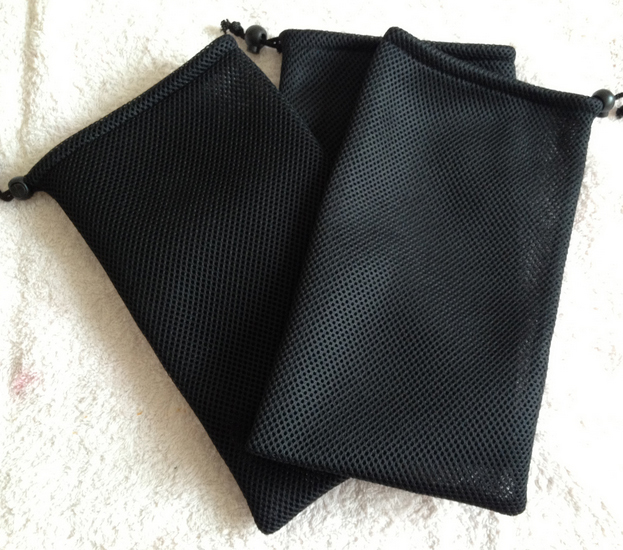 Sincere 100pcs/lot Cbrl Small Mesh Jewelry Bag Mesh Gift Bag Mesh Drawstring Bag Pouch For Ipad Air Jewelry Custom&wholesale Jewelry & Accessories Beads & Jewelry Making