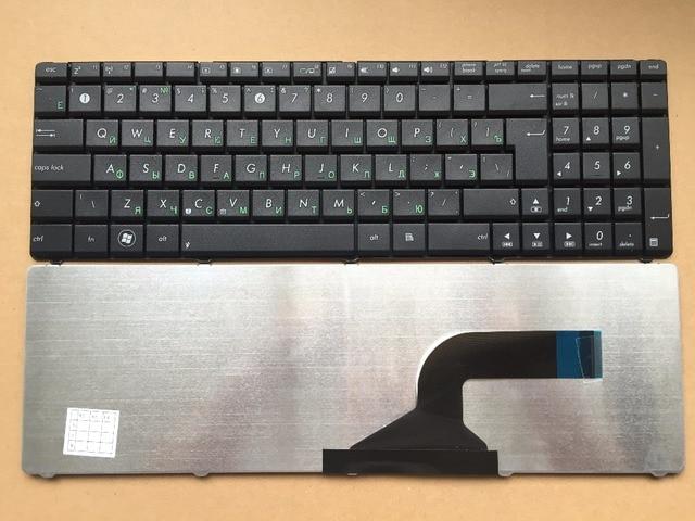 New RU Russia keyboard for ASUS N50 N53S N53SV N55SF K50 K52F K53S K53SV K72F Black RU layout Laptop keyboard