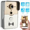 KKmoon HD 720P Doorbell P2P Wireless WIFI Video Door Phone Visual Intercom Remote Unlock Support TF Card Phone Access