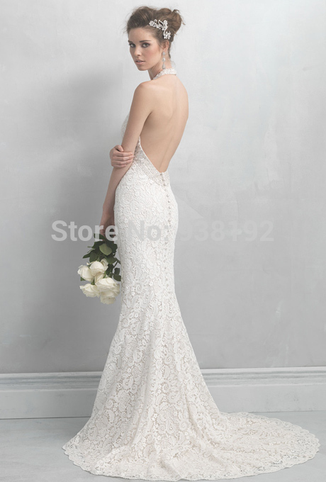 448e62ee10 Wedding Dresses For Petite Women Cute Simple White Beach Style Plus Size  Under Trumpet Floor Length Court Train Lace 2015 Cheap-in Wedding Dresses  from ...